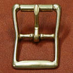 Buckle, center bar, 1 1/4 in. wide