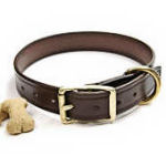 Dog collar, plain