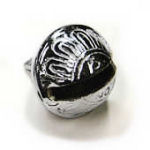 New petal bell, silver color, size #5, 1 5/8 in.