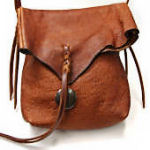 Rustic purse, medium