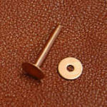 Copper rivet and burr, #14