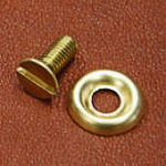 Machine screw and washer, #10