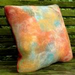 Island heather pillow